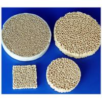 Different Shape Arc-Resistance Alumina Aluminum Oxide Ceramic Foam For Chemical, Cement Manufactures