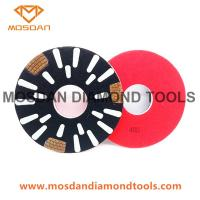 Sase Velcro Concrete Burnishing Diamond Polishing Pucks Pads Discs Manufactures