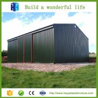 Hot sale steel structure shelter steel structure building steel structure house quick build houses Manufactures