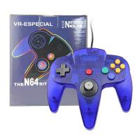 China ABS Plastic Nintendo 64 Clear Purple Controller , Nintendo 64 Game Controller on sale