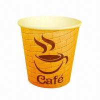 Single-wall Cup, 6oz /SGS-/FDA-marked, Up to 8 Colors, with Offset for Flexo Printing Manufactures
