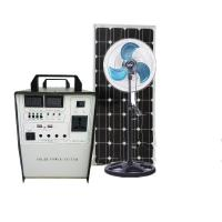300W All-in-One Solar power Generator solar energy system portable solar system 65Ah Battery 18V 100W Mono solar panel Manufactures