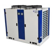 China Compact  Air Cooled Condenser Space Saving With Cooper Tube Aluminium Fin on sale