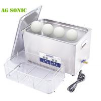 China 30 Liters Ultrasonic Golf Club Cleaner With SUS Stainless Steel Basket And Lid on sale