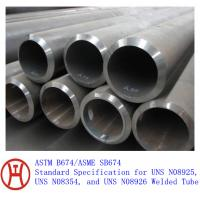ASTM B674/ASME SB674 steel pipe Manufactures