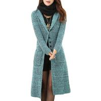Melange Cable Knit Womens Long Cardigans Women'S Button Front Cardigan Sweaters Manufactures