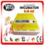 2014 Newest style full automatic mini chicken egg incubator plant incubator VA-48(12v) for sale Manufactures