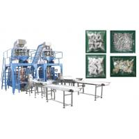 Small Hardware / Pipe Fittings Multihead Weigher Packing Machine With Mild / Stainless Steel Body Manufactures