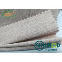Chest Canvas Horse Hair Interlining With Good Elasticity Woven Technology Manufactures