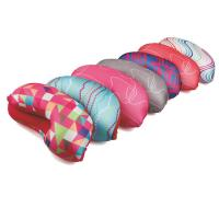 Custom print beads cushion,spandex travel pillow,airplane u shape elastic pillow Manufactures