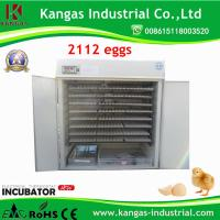 CE high quanlity automatic Commercial Egg Incubator 2112 Eggs Manufactures