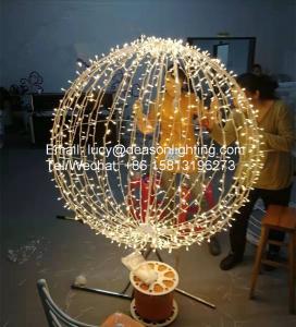 China christmas hanging ball lights on sale