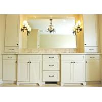 Villa Customized Free Standing Bathroom Vanity Cabinets , Painted 5 Times For Scratch Proof Manufactures
