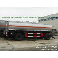 Manufactures high quality fuel tankers Pup Trailer  25000L Fuel Tank Full Trailer for sale WhatsApp:8615271357675 Manufactures