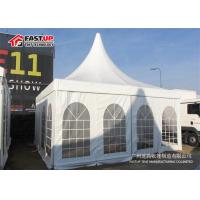 High Peak Pagoda Festival Party Tent 5X5M PVC Fabric Cover Elegant Design Manufactures