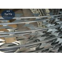 Steel Wire Material and Galvanized Surface Treatment Standard BTO-22 Blade Sharp Razor Barbed Wire Manufactures