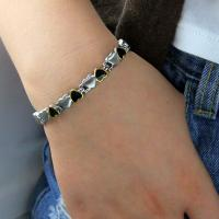 2016 Fitness Jewelry 316L Stainless Steel Germanium Bracelet Designed For Couple,stainless steel bracelet Manufactures
