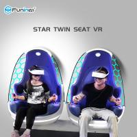 Single Control VR Egg Chair Xd Adventures 9d Virtual Reality Ride Long Life Manufactures