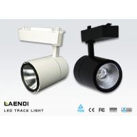 30w Cob Led Track Light 60 Degree Ceiling Mounted Track Lighting 100lm/W Manufactures