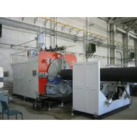 China High Precision HDPE Pipe Extruder Machine PLC Control , Pipe Extruding Machine on sale