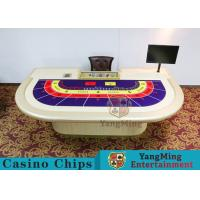 Entertainment Poker Game Table Luxury 9 Players Manufactures