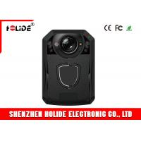 China LCD Monitor Police Body Cameras 130 Degree Wide Angle Body Video Camera on sale
