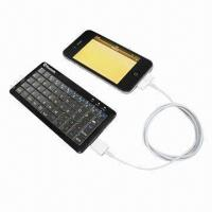China Wireless Bluetooth Keyboard for iPhone/Samsung/iPad on sale