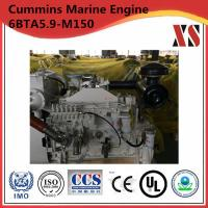 China 4 Stroke Water Cooled Cummins Marine Diesel Engine 6BTA5.9-M150 Engine on sale
