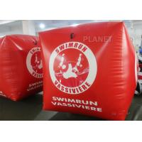 Buy cheap 1.5M Water Play Buoy Inflatable Cube PVC Advertising Buoy For Sports from wholesalers