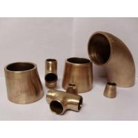 Copper Nickel Butt Weld Pipe Fittings Seamless Welded Cu-Ni 90/10 ASME B16.9 Manufactures