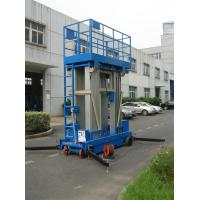 Stable Performance Aerial Lift Platform , 6 Meter Four Mast Hydraulic Cargo Lift Manufactures