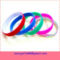 Quality fashion oil painted silicone bangle manufacture for sale