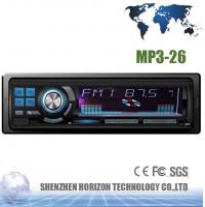 Car Audio MP3-26 Car Card Reader, USB&SD/MMC Card Support, Car MP3 Player Manufactures