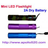 Mini LED Flashlight 2A Dry Battery Manufactures