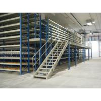 Heavy Duty Metal Mezzanine Racking System Multi Layer With Q235B Steel Material Manufactures