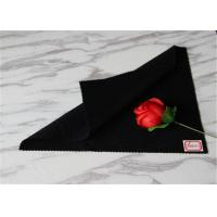 Women Skirts Black Coating Wool Fabric With 30% Polyester 600g Per Meter Manufactures
