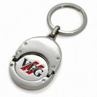 Coin Holder for Euro 1, Comes in Nickel Shine Finishing, with Soft Enamel Manufactures