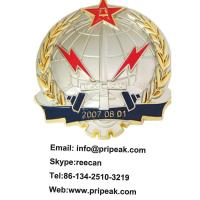 Antique Silver Custom Sports Medals Synthetic Enamel Without Polish Surface Manufactures
