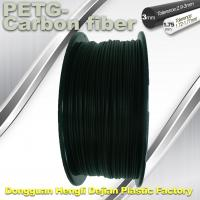 High Strength Filament 3D Printer Filament 1.75mm PETG - Carbon Fiber Black Filament Manufactures
