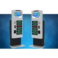 China Fast Charging High Secure Cell Phone Charging Stations For Tablet Pc With LCD on sale