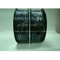Customized high rigidity ABS conductive 3d printing filament black Manufactures