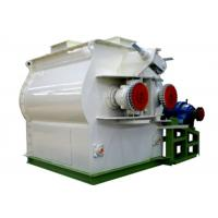 Double Shaft Paddle Poultry Feed Mixer Grinder Machine 1 Year Warranty Manufactures
