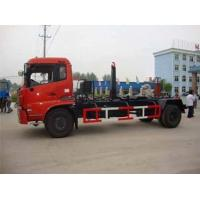 4X2  HOWO Hook Lift Lorry / Waste Management TrucksSmall Garbage Transfer Station Manufactures
