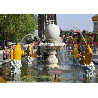 Modern Garden Water Fountain Fengshui Ball Hotel Decorative Water Fountains Manufactures
