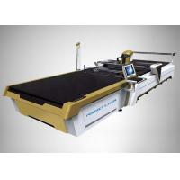 Automatic CO2 Laser Cutting Machine CAD/CAM Cutting System For Cotton Linen Silk Manufactures