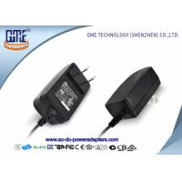 CEC Level VI US Plug 12V 1A Switching Power Adapter with UL Certificate Manufactures