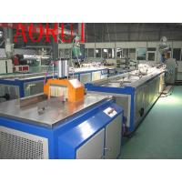 China PP / PE WPC Plastic Profile Extrusion Line for Venetian Blind on sale