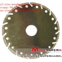 Electroplated Diamond Cutting Blades, Discs for Marble alan.wang@moresuperhard.com Manufactures