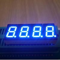 Instrument Panel 0.4 Inch 4 Digit 7 Segment Led Display Ultra Bright Blue Emitting Color Manufactures