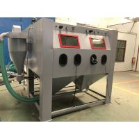 Pressure Sand Shot Blasting Cabinets Large Machine With Separartor And Dust Collector Connected Manufactures